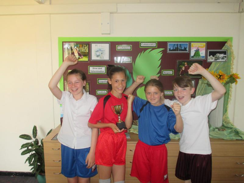 Sport's Day Winners - The Purple Team